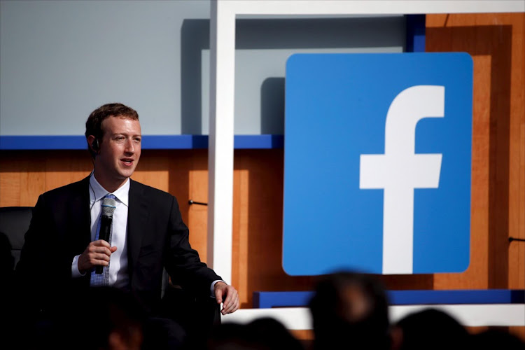Facebook CEO Mark Zuckerberg speaks on stage during a town hall with Indian Prime Minister Narendra Modi at Facebook's headquarters in California. Facebook, whose value lies in nontangibles, is one of the most powerful brands in the world. Picture: REUTERS