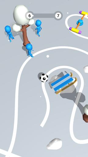 Télécharger Jeu de Football 3D mod apk screenshots 4
