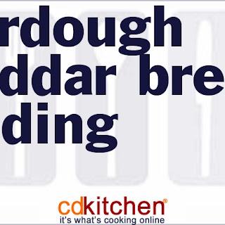 Sourdough Cheddar Bread Pudding.