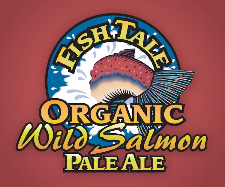 Logo of Fish Tale Wild Salmon Organic Pale