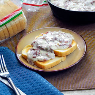 Creamed Beef Over Toast Recipe