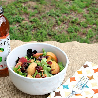 Fresh Peach & Ginger Asian Salad – How to Celebrate Earth Day Recipe