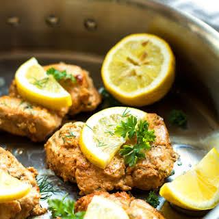 Lemon & Greek Yogurt Chicken.
