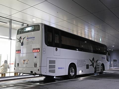 西鉄高速バス「桜島号」夜行便 4012 リア