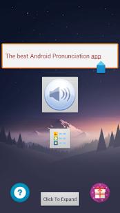 Pronunciation - náhled
