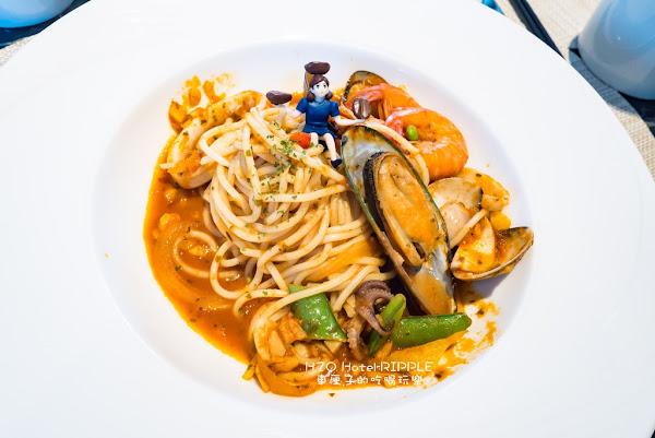 RIPPLE義法西餐廳(H2O水京棧國際酒店)-景觀無敵西餐廳