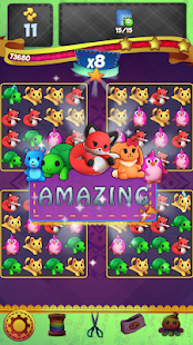 Fluffy PJ Trolls Friends: Match 3 Puzzle Game- screenshot thumbnail