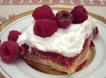 Raspberry / Rhubarb Dessert Recipe