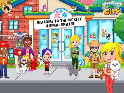Ma ville: refuge pour animaux