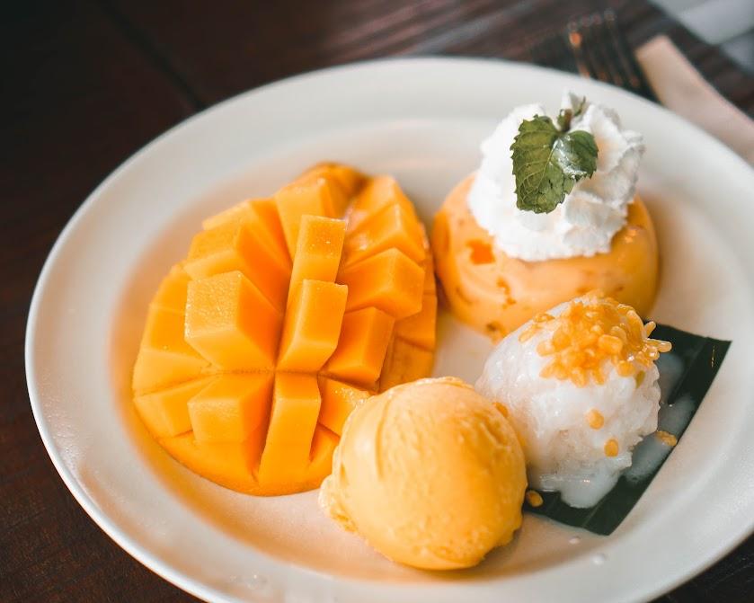 Mango Sticky Rice di Mango Tango Thailand