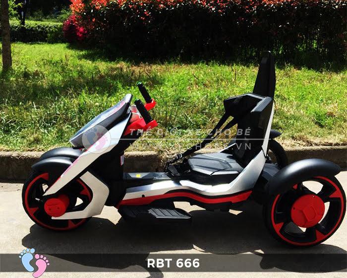 Xe mô tô điện trẻ em 3 bánh RBT-666 5