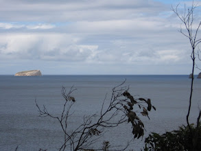 Photo: Looking out of Fortescue to Hippolyte Rock