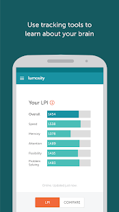 Lumosity- screenshot thumbnail