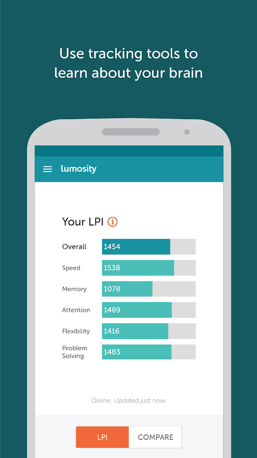 Lumosity- screenshot