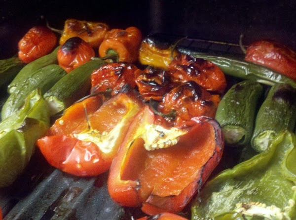 EXTRA COOKING TIPS: Roasted peppers.