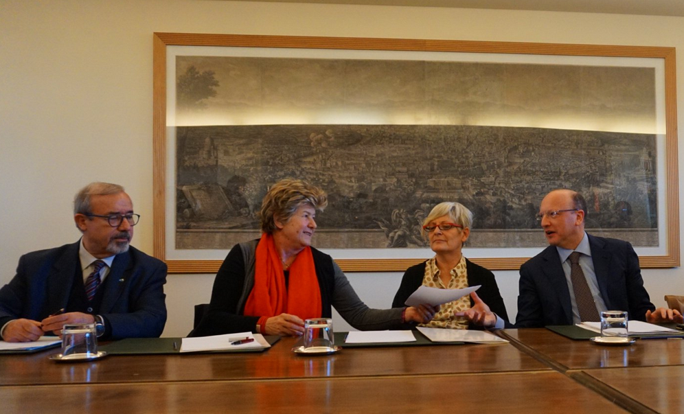 Firma del Patto della Fabbrica - photo credit Confindustria