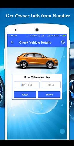 Vehicle Owner RTO - Vehicle Information App 1.9 screenshots 2