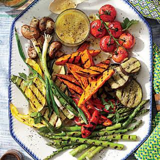 Grilled Summer Vegetable Platter.