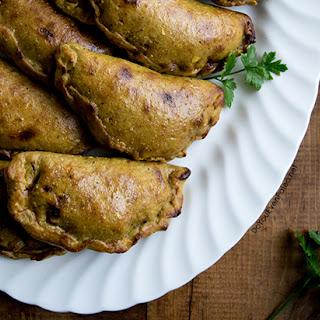 Flourless Plantain Empanadas.