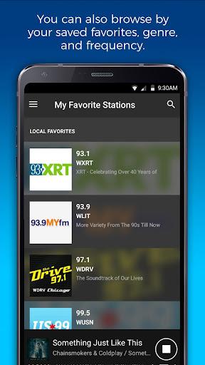 NextRadio Free Live FM Radio 6.0.2492-release screenshots 2