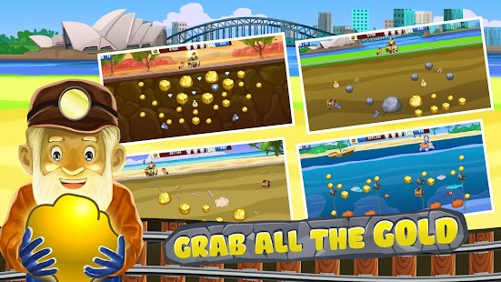 Gold Miner World Tour: Arcade Gold Rush Game Screenshot