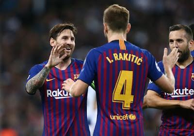 Le FC Barcelone dit au revoir à un milieu de terrain qui retourne chez son ex