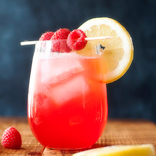 Vodka Raspberry Lemonade.