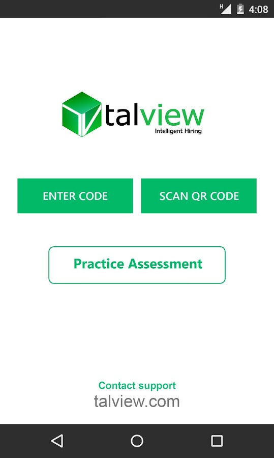 Talview - Candidate App- screenshot