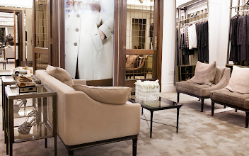 Photo: The space features British-made bespoke furniture, floors and plasterwork