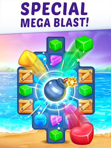 Gummy Paradise - Free Match 3 Puzzle Game  screenshots 16