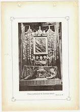 Photo: Ołtarz z relikwiami bł. Andrzeja Boboli w kościele del Gesu. ALBUM PAMIĄTEK POLSKICH W RZYMIE Rzym Szkoła Typograficzna Piusa X VIA DEGLI ETRUSCHI, 7-9 1925 r. (karta z albumu)