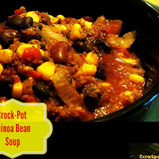 Crock-Pot Quinoa Bean Soup
