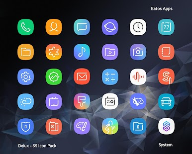 Delux - S9 Icon Pack Screenshot