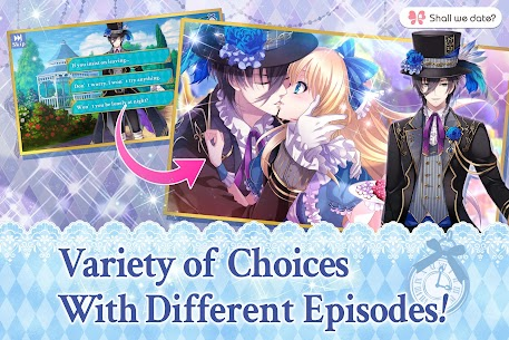 Lost Alice in Wonderland Shall we date otome games Apk 3