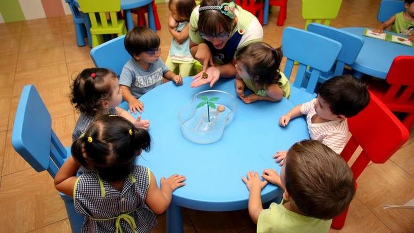 Imagen de archivo de un centro de Educación Infantil.