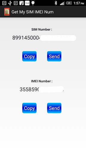 Find My SIM IMEI Number