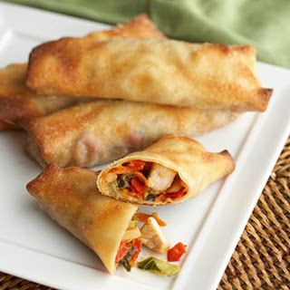 Light 'n Crisp Egg Rolls.