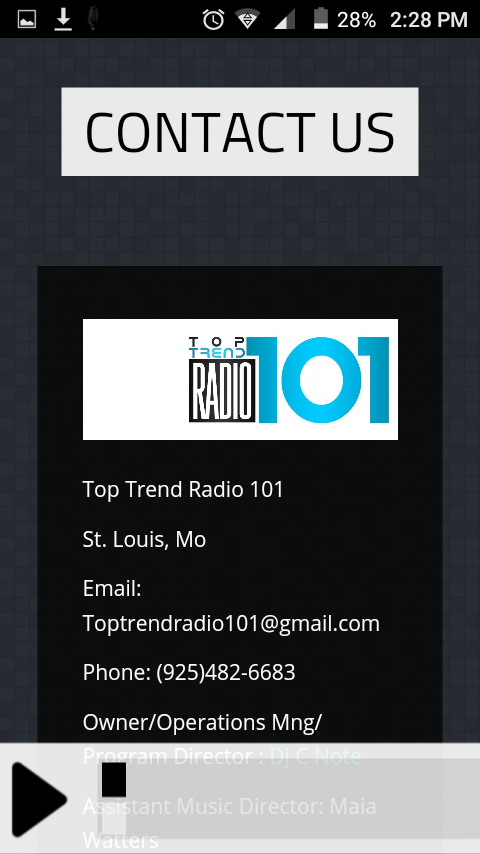 Top-Trend Radio- screenshot