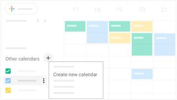 Creare un calendario