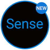 Sense Black/Blue cm13 theme