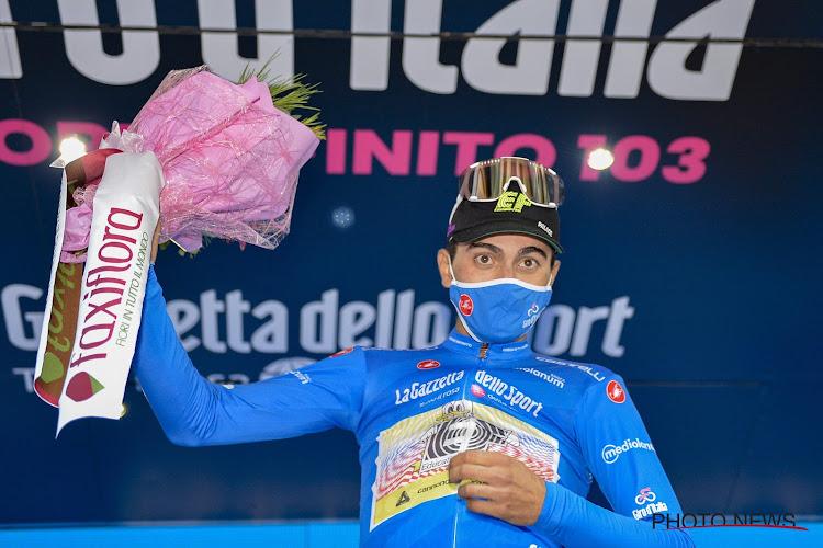 Bergkoning van Giro breekt sleutelbeen op training na aanrijjding
