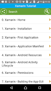 Learn Xamarin- screenshot thumbnail