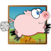 Flying Pig (Free Runner Game)