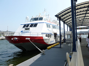 Photo: Ferry back to Busan