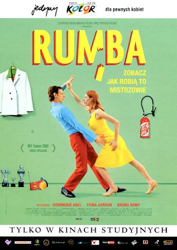 Przód ulotki filmu 'Rumba'