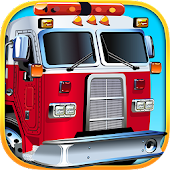 Fire Engines & Trucks Puzzle