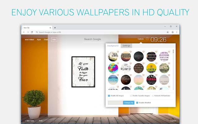 Inspiring Quotes Wallpaper HD Custom New Tab
