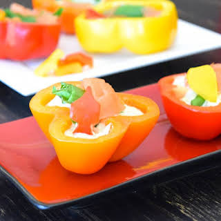 Raw Stuffed Peppers.