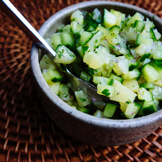 Cucumber-Pineapple Salsa