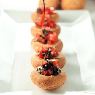 Bruschetta Mozzarella Bites.